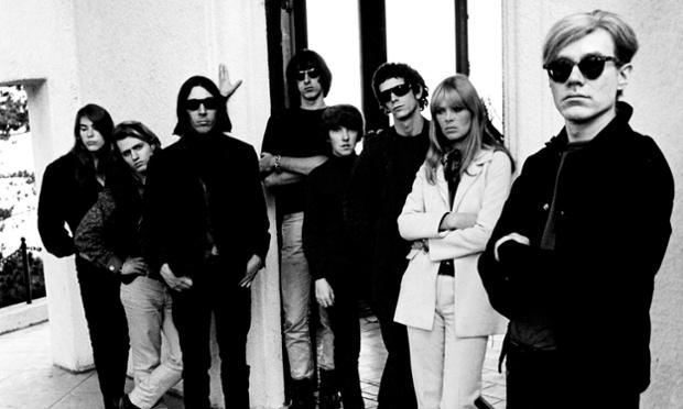Andy Warhol with Velvet Underground and Nico
